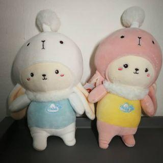 2 for RM25 promotion anime character soft toy plush stuffed toys collectibles Size(S) #CherasLM