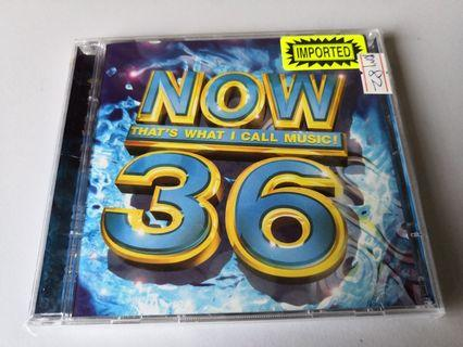 Now That's What I Call Music 36 song 2CDs set