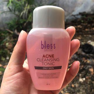 bless acne cleansing tonic isi 90% toner jerawat