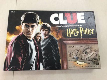 Clue, the Classic Mystery Game, Harry Potter board game