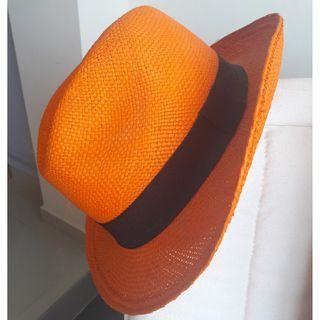 Handcrafted straw hat