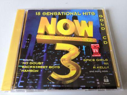 NOW That's What I Call Music 3 GOLD CD