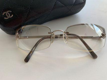 Chanel rimless glasses