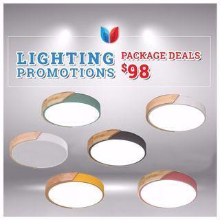 Stylish Multi Colors LED Ceiling lights