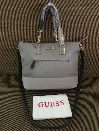 Ready stock: Original Guess Factory Mariana Chain-Detail Tote