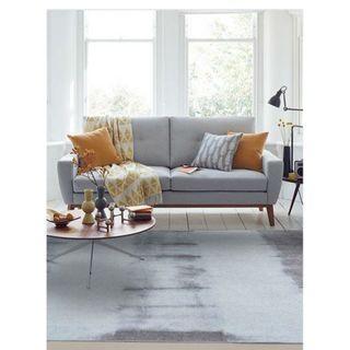 Midori Japanese-Styled Chenille Floor Rug | Carpet