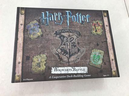 Harry Potter, Hogwarts Battle, A Cooperative Deck-Building Game, board game