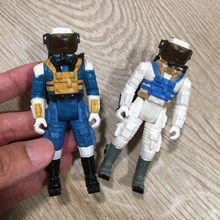 Vintage robotix astronaut action figure 1980s greatest sci-if toys of all time