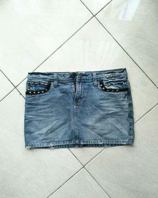 Gaudi skirt/rok jeans #BAPAO