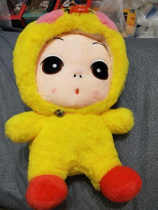 🚚 Big 40cm doll in costume soft toy