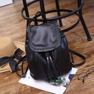Casual Ladies Black Backpack