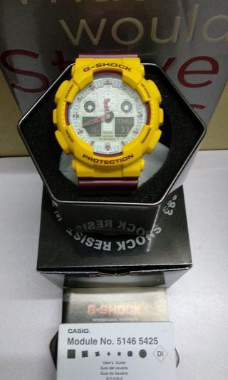 G-Shock GA-100CS Hyper Colour