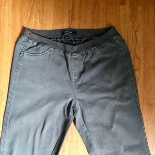 Hang Ten Grey Jeans Elastic Waistband #MRTJurongEast #MRTRaffles