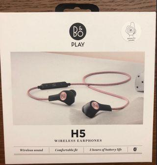 B&O wireless earphone 玫瑰粉紅色