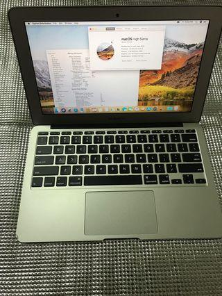 "Macbook Air 11"",5,4gb,128gb early2015"