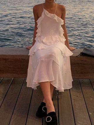Isla the Label Frill Dress