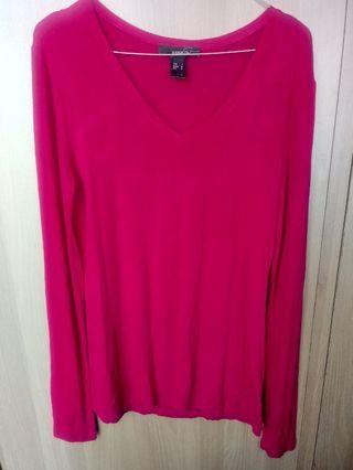 Mango Pink Fuchsia Sweater
