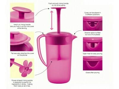 Blossom Pitcher 2.1L with Stirrer (1)