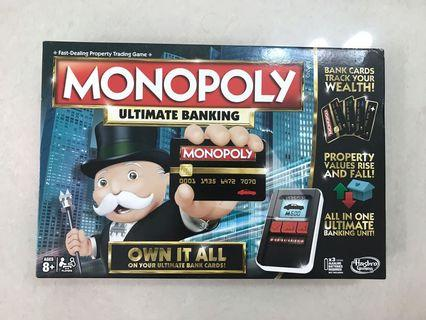 Monopoly Ultimate Banking, board game