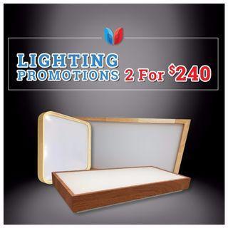 Stylish Large LED ceiling light