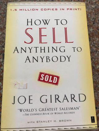 """🚚 How to sell anything to anybody by Joe Girard """"World Greatest Salesman"""" Guinness Book of World Record"""