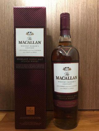 Macallan Whisky Maker 700ml
