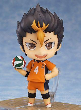 🚚 Nendoroid 592 Nishinoya Yuu - MISSING face plate