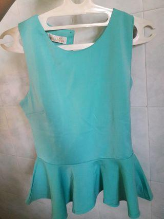 Tosca Peplum Top
