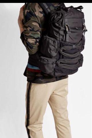 Squared Black backpack