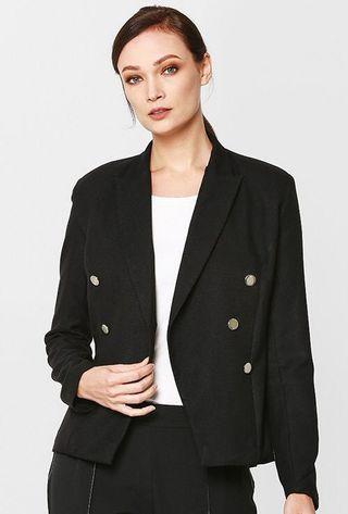 Ida Full Lined Jacket in Black