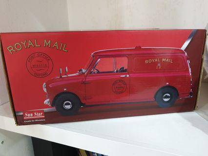 Sun star royal mail morris minivan 1/12 limited edition