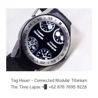 Tag Heuer - Connected Modular with Titanium Bezel (Smart Watch) 41m