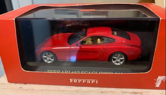 法拉利模型車 Ferrari 612 Scaglietti 2004 1:43