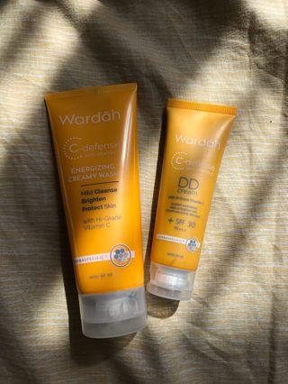 Bb cream & facial wash c defense