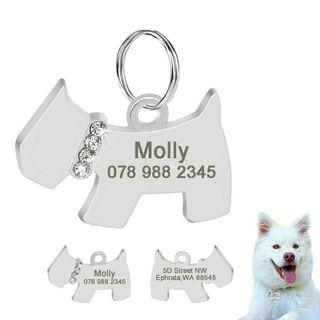 [Pre-Order] Personalized Dog ID Tag Dog