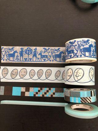 MT masking tape 藍色系列