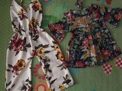 kids floral bundle