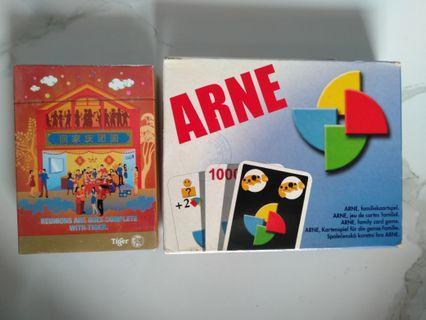 Playing card ( arne n tiger)