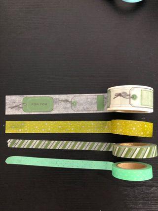 MT Masking tape 綠色系列2