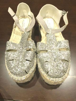 Aldo草編鞋
