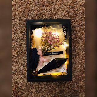 Violet Pink Baby Breath Gift 🎁 Set