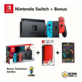 Konsol Nintendo Switch JPN/ENG plus Bonus