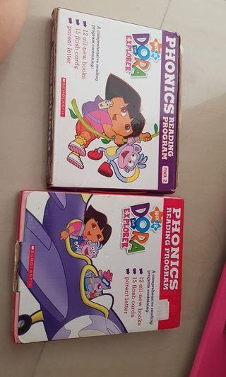 🚚 Dora phonics books