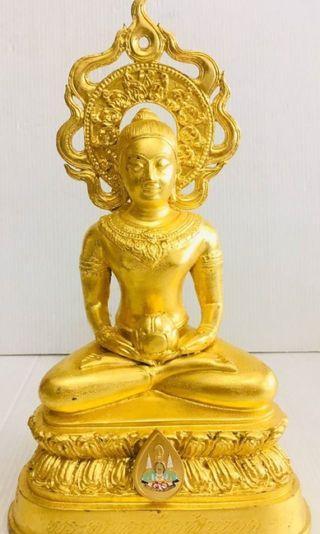 "Thai Amulet Phra Phom ma 5.5"" Bucha Be2534"