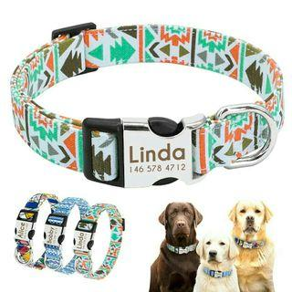 [Pre-Order] Dog Collar Personalized