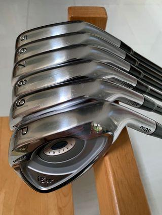 PRGR IRON GOLF SET