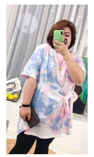 Plus Size Tied Dye Tunic