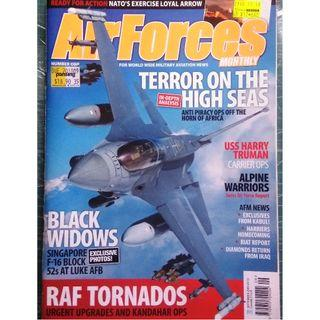 AirForces Monthly Sep 2009 (Military, Jets, Fighters, Airforce)
