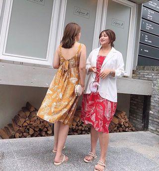 Plus Size Open Back Summer Dress