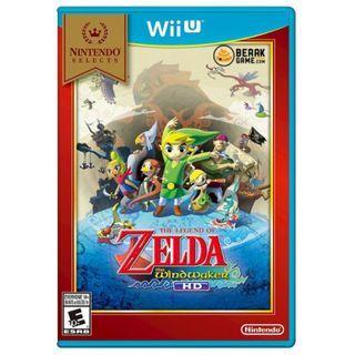 Nintendo Wii U The Legend of Zelda The Windwaker